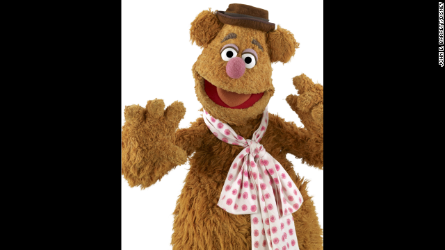 Fozzie Bear, the beloved comedian of the group.