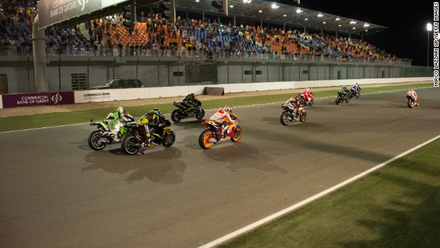 The new MotoGP season gets underway at the Losail Circuit for the Grand Prix of Qatar on March 23. The event is one of the most stunning on the MotoGP calendar, with the race taking place at night time under floodlights. Lying on the outskirts of Doha, the track was completed in 2004 and cost $58 million.
