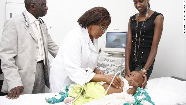 Dr. Betty Gikonyo is one of Kenya's top pediatric heart surgeons.