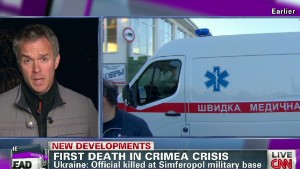 Pro-Russians storm Ukrainian navy base in Crimea - CNN.com