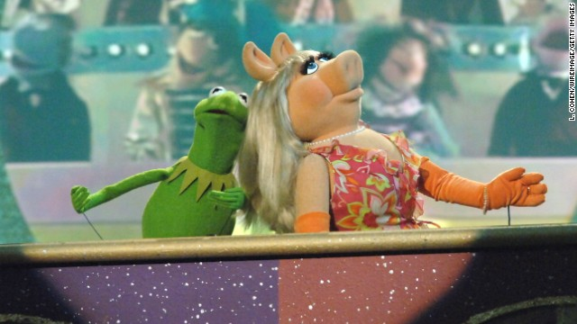 "Miss Piggy has been willing to wait for Kermit because he's the only one for her, but she hasn't let their on-again, off-again affair get in the way of her dreams. She's gone from ""The Muppet Show"" to becoming a household name, complete with her own variety special, books and merchandise, all while being generally fabulous. ""Many people don't realize it,"" <a href='http://www.usmagazine.com/celebrity-news/news/miss-piggy-slams-joan-rivers-plans-to-take-over-as-queen-of-shopping-on-qvc-with-new-lifestyle-brand-2014282#ixzz2uea2pshl ' target='_blank'>she said this year</a>, ""but if you don't turn yourself into an empire, you can lose your diva's license."""