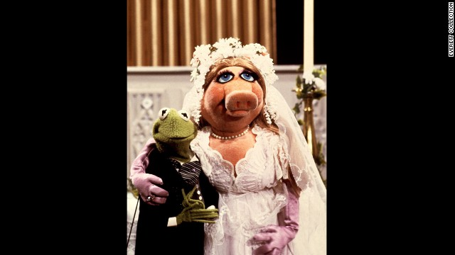 "Before long, Miss Piggy and Kermit were dressed in their best wedding wear and ready to walk down the aisle on ""The Muppet Show."" Piggy tricked her Kermie into it by presenting their wedding as nothing more than a sketch for the variety program while secretly hiring a real minister to officiate. Kermit managed to evade saying the magic words -- ""I do"" -- and earned payback from the pig."