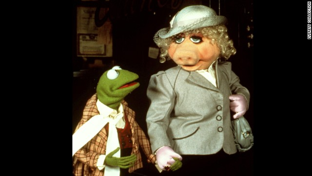 "It's not hard to imagine why Miss Piggy, being a diva destined for greatness, would see her equal in Kermit the Frog. After all, when they came to fame on ""The Muppet Show"" in 1976, he was the HFIC (head frog in charge). Piggy always made her adoration clear, but it seemed her affection was unrequited. In reality, as Kermit has told us, Piggy did catch his eye. ""Debbie Reynolds (in 'Singin' in the Rain') reminds me of Piggy when I first met her,"" <a href='http://www.cnn.com/2011/11/22/showbiz/movies/muppets-q-and-a/index.html'>he said</a>. ""That's meant as a compliment, Ms. Reynolds."""