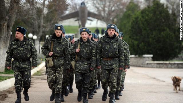 El dilema militar de Crimea, soldados sin opción