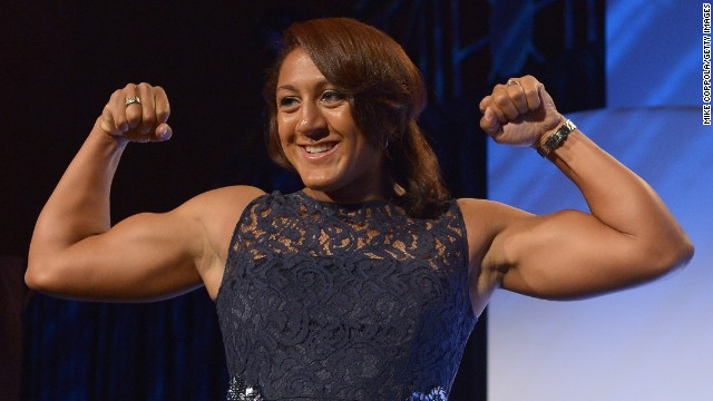 U.S. Winter Olympian Elana Meyers was told she had the  flawless build for rugby sevens, so opted to  get the switch.