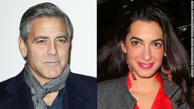 Has George Clooney found the one? <a href='http://news-briefs.ew.com/2014/04/26/people-magazine-says-george-clooney-plans-to-marry-amal-alamuddin/' target='_blank'>People magazine reports he plans to marry</a> British human rights attorney Amal Alamuddin. The debonair actor has an illustrious dating history; just take a look: