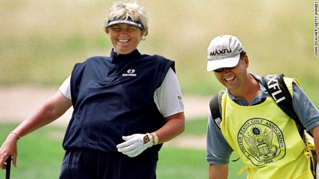 Mundy only became a caddy after a player plea in the pub where he drank, and later worked with former women's world No. 1 Laura Davies.