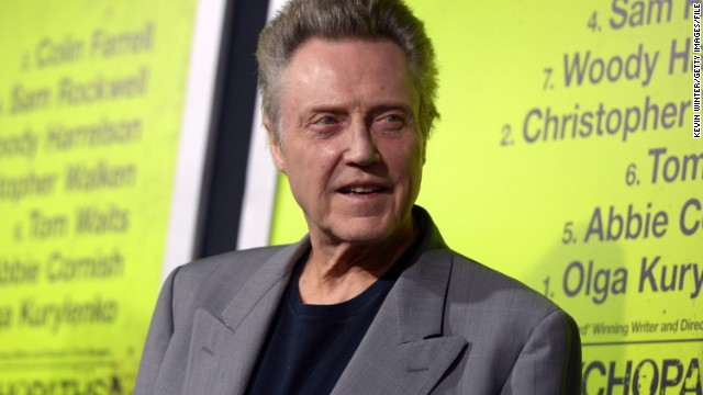 Christopher Walken is Captain Hook, and more news to note