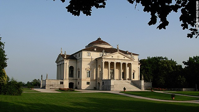 Villa La Rotonda was built in 1567 by world renowned architect Andrea Palladio. Current owner Count Niccolo Valmarana opens it to tours and for private events.