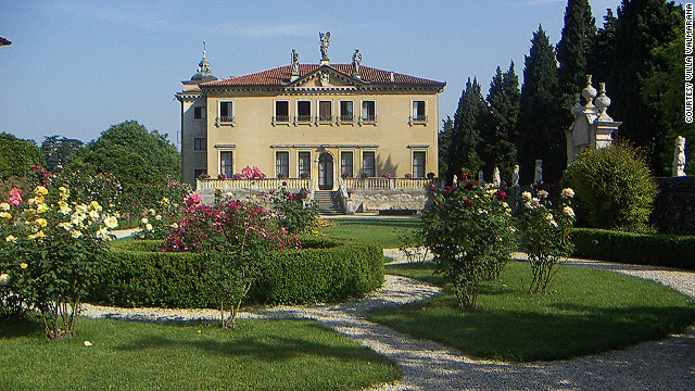 Countessa Carolina Valmarana owns the 17th century Villa Valmarana. She admits the upkeep would be impossible to afford if she didn't open her home up to tourists.