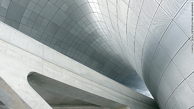 Covering 85,000 square meters, the building includes a design museum, library and educational facilities.