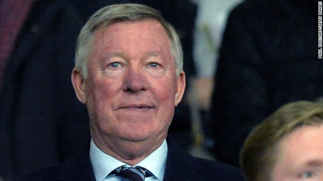 Not for the first time this season, Sir Alex Ferguson -- the man Moyes replaced -- was in attendance at Old Trafford.
