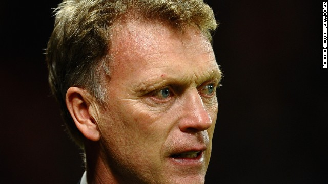 Manchester United manager David Moyes got much needed relief after his team beat Olympiacos 3-0 to advance to the Champions League quarterfinals. Robin van Persie scored a hat-trick for United, which trailed 2-0 after the first leg.