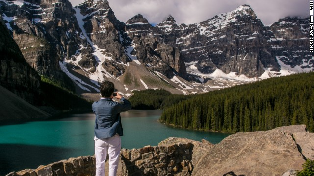 <strong>Canada</strong> is the sixth-happiest country in the world. <a href='http://www.pc.gc.ca/eng/pn-np/ab/banff/index.aspx' target='_blank'>Banff National Park</a> may be one of the reasons why. Canada's oldest national park spans more than 2,500 square miles of mountains, glaciers, forests and lakes.