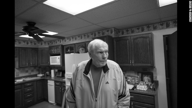 Phelps at his home in Topeka in 2008.