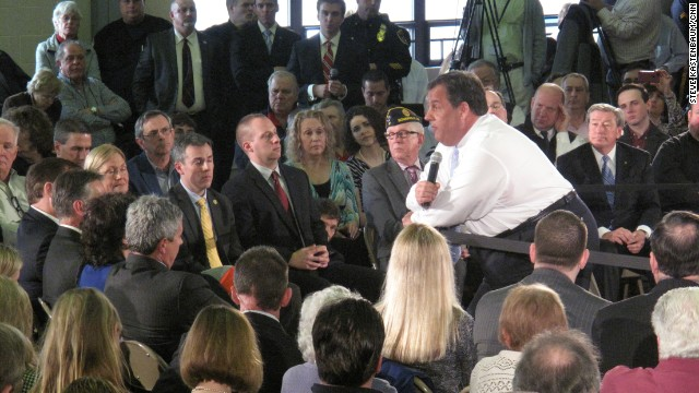At town hall, Christie talks bridge scandal, pot and missing plane