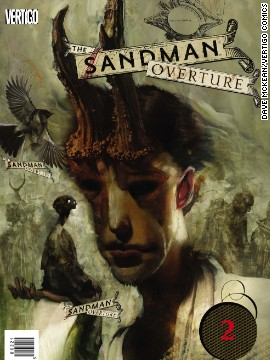 "The variant cover for the second issue of ""Sandman: Overture"""