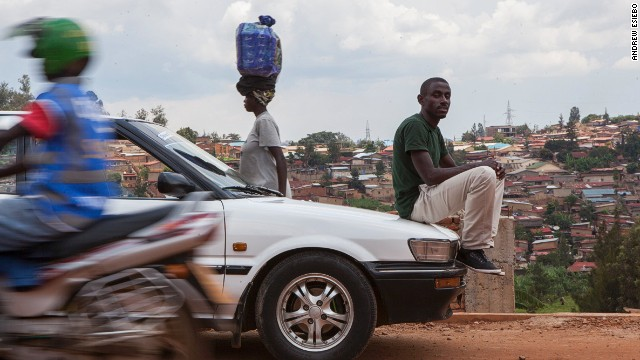 The series features Rwandans from all walks of life who've come back to help in the rebuilding of their country.