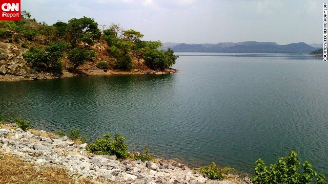 The beautiful man-made Usman Dam in Abuja, Nigeria, is the main source of drinking water in the Federal Capital Territory. The dam is 1,300 meters long and equipped with a pumping station to provide raw water to the area in the event of extreme drought.