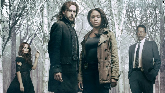 "Still looking for post-racial America? Turn on the TV. There's been a surge of multiracial casting in sci-fi and horror shows such as ""The Walking Dead"" and ""Sleepy Hollow"" (pictured from left, Katia Winter, Tom Mison, Nicole Beharie and Orlando Jones). These shows depict people of color, and women, in nonstereotypical roles. Anyone -- not just white men -- can now be the hero."