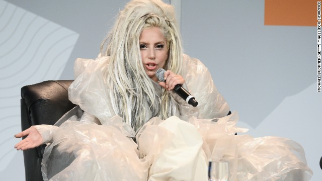 "Lady Gaga gave a performance at the 2014 SXSW festival that included ""vomit art,"" which she later explained at a keynote address was all about promoting the freedom of artistic expression. ""Things that are really, really strange and feel really wrong can really change the world,"" she said. ""I'm not saying vomit's going to change the world. ... It's truly just what we wanted to create and do."" How does the singer's SXSW appearance hold up against her other spectacular looks?"