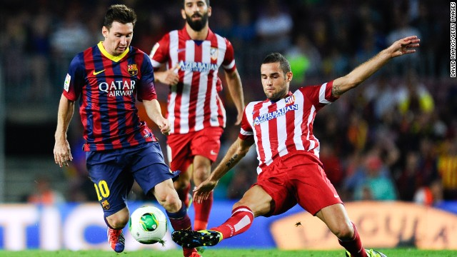 <strong>Barcelona v Atletico Madrid</strong>: Barcelona and Atletico have come face-to-face three times already this season -- with all those ties ending in draws. But this will be the first time the two have met in European competition.