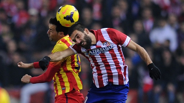 """<strong>Barcelona v Atletico Madrid</strong>: Atletico's youthful side are one point ahead of Barcelona in La Liga and have won seven of their European games so far this season, and drawn just one. Barcelona's technical director of football Andoni Zubizarreta is wary, telling reporters: """"They're one of the strongest teams in Europe."""""""