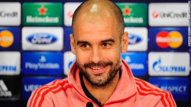 <strong>Manchester United v Bayern Munich</strong>: Bayern manager Pep Guardiola will likely be pleased with the draw against struggling Manchester United, who progressed despite <a href='http://edition.cnn.com/2014/03/19/sport/football/manchester-united-olympiakos-champions-league/'>a shaky first-leg loss</a> to Greek side Olympiakos.