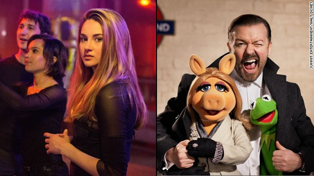 'Divergent' vs. 'Muppets': Which are you going to see?