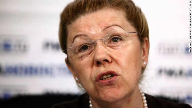 Elena Mizulina is one of the parliamentarians behind Russia's anti-gay legislation and was also a strong proponent of the anti-Magnitsky law, which banned adoptions of Russian orphans by American families.