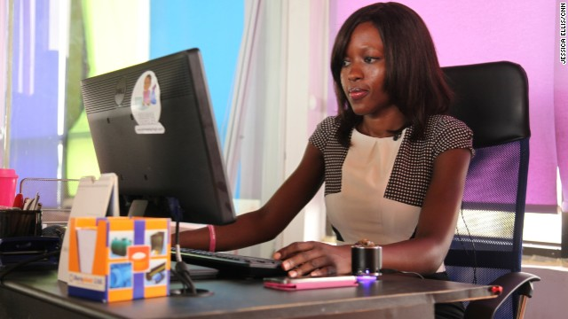 Entrepreneur Regina Agyare is the founder of Soronko Solutions, a Ghanaian software development company.