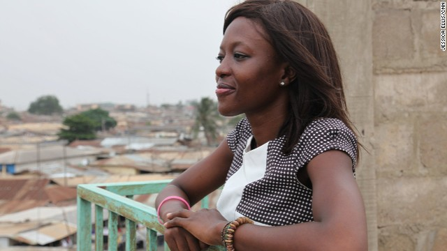 Agyare has big hopes for the future -- the young entrepreneur plans to expand her company outside of Ghana and also help more women pursue careers in tech.