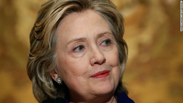 Hillary Clinton would consider backing bid to limit money in politics