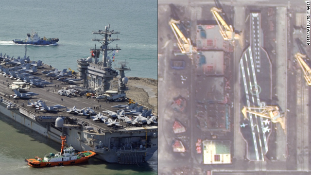 Why is Iran building giant mock-up of U.S. aircraft carrier?