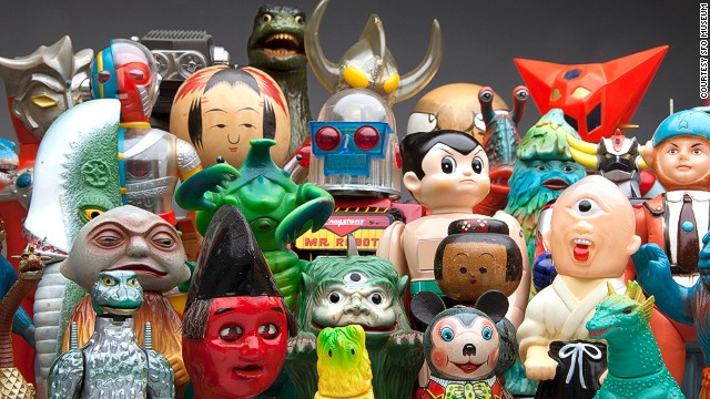 <a href='http://www.flysfo.com/museum/exhibitions/japanese-toys-kokeshi-kaiju' target='_blank'>Japanese Toys! From Kokeshi to Kaiju</a> is the the most popular exhibit ever at San Francisco International Airport's in-house museum. Its run has recently been extended through mid-May.