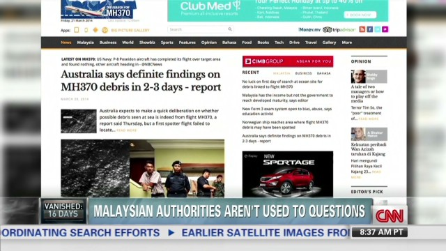 Malaysian authorities vs. the media