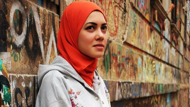 "Rapper Mayam Mahmoud (pictured here by Egyptian photographer <a href='http://mohamedazazy.com' target='_blank'>Mohamed Azazy</a>) shot to fame in 2013 after wowing both judges and audiences alike with her audition on "" Arab's Got Talent."""