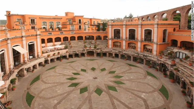 The Quinta Real Zacatecas in Mexico had a former life as a 19th century bullfighting arena.