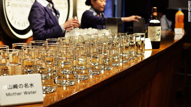 Yamazaki's legendary water was the reason Suntory founder Shinjiro Torii decided to build a distillery here. Designated one of the best mineral waters in the country, Yamazaki's crisp, delicious water has its own tasting corner at the distillery.