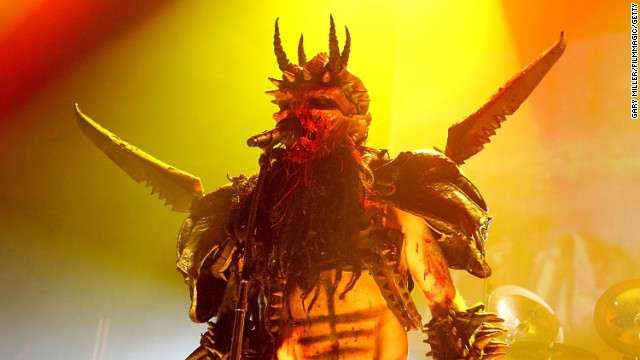 """Gwar lead singer <a href='http://ift.tt/Q8Wfbd'>Dave Brockie</a> died March 23 at the age of 50, his manager said. The heavy-metal group formed in 1984, billing itself as """"Earth's only openly extraterrestrial rock band."""" Brockie performed in the persona of Oderus Urungus."""