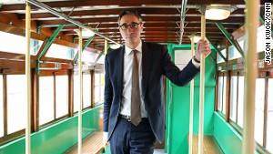 Emmanuel Vivant, director and general manager of Hong Kong Tramways.