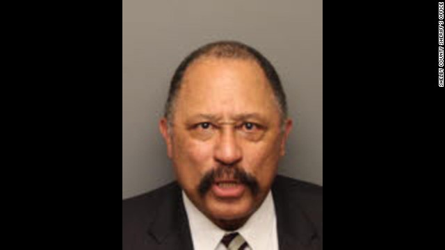 Celebrity mugshots: Judge Joe Brown
