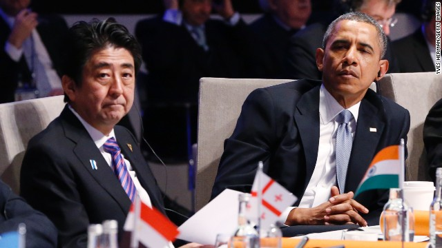 Why Obama and Abe should take lead on TPP