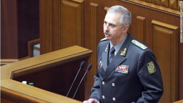 Parlamento ucraniano destituye al ministro interino de Defensa