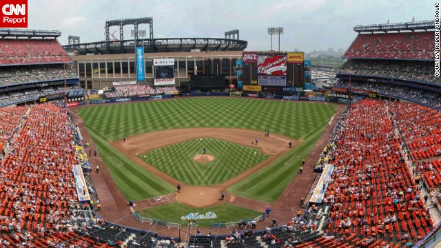 <strong>Shea Stadium (2008): </strong>Ondrovic and his pals rank the Mets' former home among the worst ballparks, but it will always remain his favorite for the memories. The Mets played there from 1964 to 2008 and moved to Citi Field in 2009. Shea was demolished the same year.
