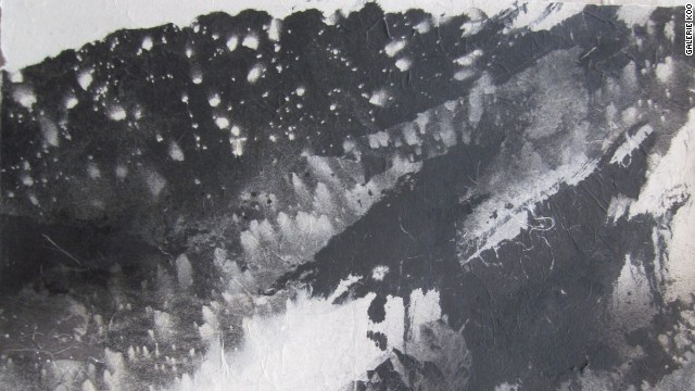 This piece, put up for sale at the Affordable Art Hong Kong fair by Galerie Koo, reportedly sold for HK$27,000 ($3,480). The fair featured pieces from 120 galleries and over 1,000 local and international artists.
