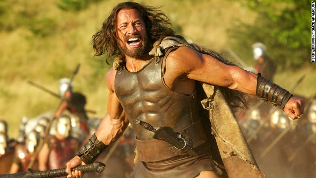 First look at The Rock as 'Hercules'