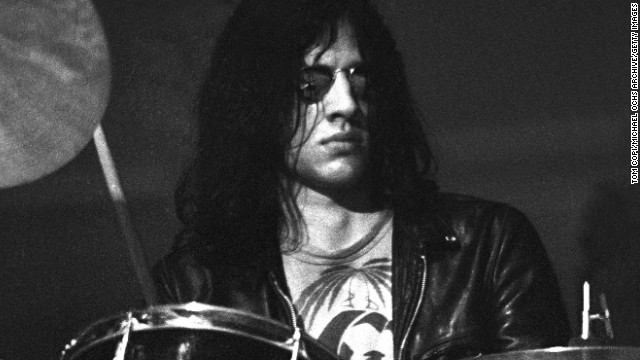 Drummer <a href='http://www.gettyimages.com/detail/news-photo/drummer-scott-asheton-of-iggy-andthe-stooges-performs-in-news-photo/479298893' >Scott Asheton,</a> who co-founded and played drums for the influential proto-punk band The Stooges, died March 15. He was 64.