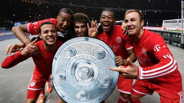 Bayern Múnich, campeón de la Bundesliga siete fechas antes del final del torneo