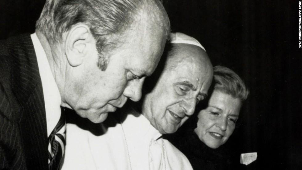 Los Papas y los presidentes de EE.UU.